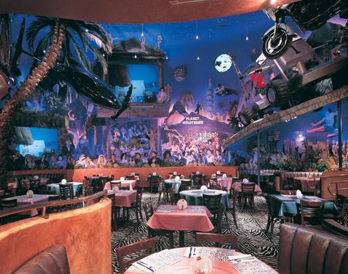 Planet Hollywood Restaurant Las Vegas Menu