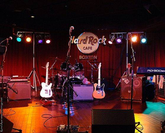Hard Rock Cafe In Boston Events