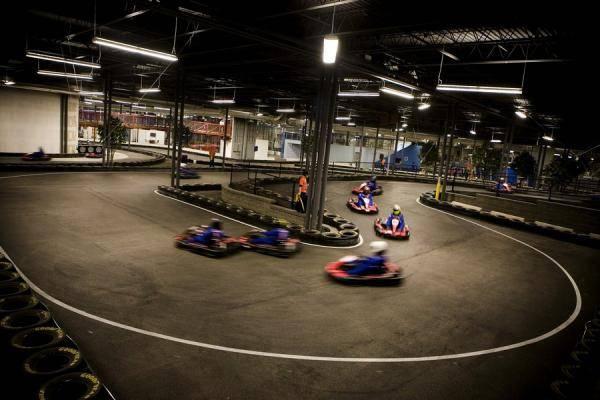 Indoor Karting New York Bachelor Party Mount Kisco