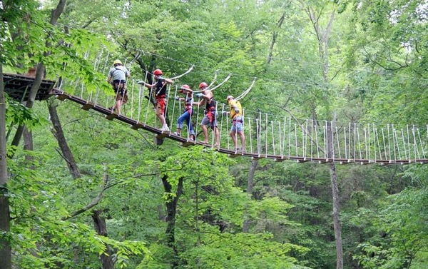 Hocking Hills Canopy Tours & Hocking Hills Canopy Tours | Ohio Zip Line Tours Private Party ...