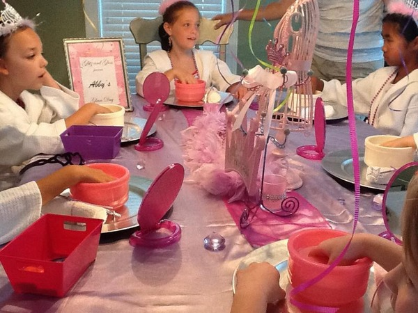 Glitz Gloss Kids Mobile Spa Parties Raleigh NC Kids Spa - Childrens birthday parties raleigh nc